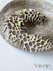Untitled by Sona Grigoryan Ceramic Clay, Ceramic Pottery, Pottery Art, Clay Clay, Metal Clay, Ceramic Texture, Clay Texture, Pottery Sculpture, Sculpture Art
