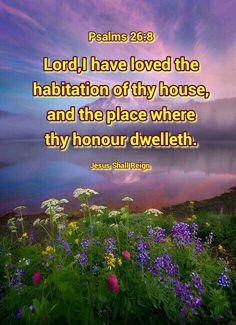 Psalms 26:8