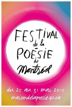 Festival de la poésie de Montréal 2015