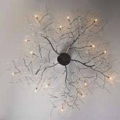 Deckenleuchte Forest 15 Chrom Deckenlampe Lampe Innenbeleuchtung Wohnzimmerlampe