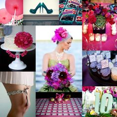Tried and True: Wedding and Event Planning: Jewel Tone Inspiration Board