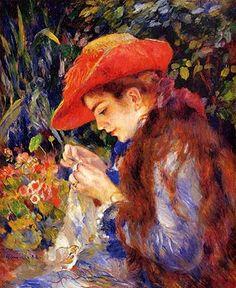 Pierre Auguste Renoir. For Renoir art authentication and Renoir art appraisals, visit renoirexperts.com