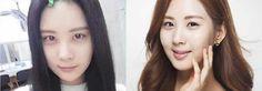 20 Celebridades femeninas del K-pop que tienen la mejor cara sin nada de maquillaje ~ Viajando por el mundo POP - Espacio Kpop