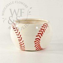 Use a Ceramic baseball vase for any unique floral design along with any vases cylinder from Wholesale Flowers and Supplies. Baby Shower Centerpieces, Floral Centerpieces, Floral Arrangements, Ceramic Flower Pots, Ceramic Pots, Ceramic Clay, Baseball Centerpiece, Wholesale Flowers And Supplies, Wholesale Vases