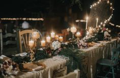 Vintage Inspired Outdoor Wedding - Rustic Wedding Chic