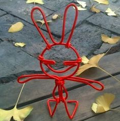 handicraft,made by electric wire