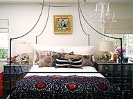 Boho Chic Bedroom Tips. Best Boho Chic Bedroom and Boho Chic Bedroom ideas for your home. Boho Chic Bedroom, Bedroom Vintage, Dream Bedroom, Bedroom Decor, Bedroom Ideas, Pretty Bedroom, Ethnic Bedroom, Funky Bedroom, Bedroom Simple