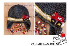 newborn baby en peutermaat - voor meisjes en jongens  - muts op bestelling gehaakt - met de hand op maat en kleur gehaakt - www.vanmijaanjou.nl -