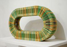 jeremy laffon's chewing gum constructions - designboom   architecture & design magazine
