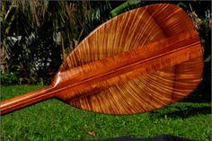 Hawaiian Oar of Koa Wood...
