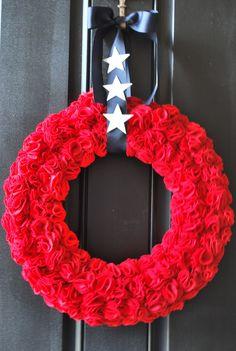 July 4 Wreaths | Goosie Girl: Fourth Of July Wreath