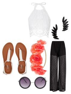 """Untitled #384"" by divergentlover-i ❤ liked on Polyvore featuring Miguelina, Boohoo, Shay, Charlotte Russe and Aéropostale"
