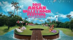 2013 ANSAN VALLEY ROCK FESTIVAL SPOT Design & Animation: VERY2MUCH Client: CJ E&M Mlive