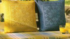 Crochet Artesanía Crochet - Almohada