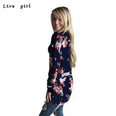 New Coat Women Autumn Irregular Long Sleeve Cardigans Casual Outwear Coat Tops Print Floral Fashion Plus Size Femme Coat 24Se29
