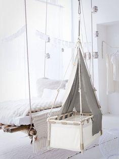 Heavenly canopies for the Kindekeklein hanging by HangingCradles