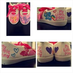 My little pony shoe Order from www.facebook.com/differentdaisys