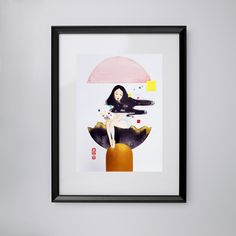 our city   office website: www.wahahafactory.com #illustration #illustrator #maysum #artcustommade #watercolor #hongkonger #artistsupportpledge City Office, Illustrator, Watercolor, Website, Frame, Artist, Decor, Pen And Wash, Decorating