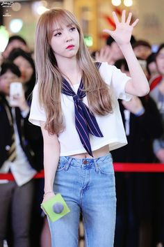 asian, beautiful, and clothes image Kpop Girl Groups, Korean Girl Groups, Kpop Girls, Kpop Fashion, Korean Fashion, Girl Fashion, Rapper, Mamamoo Moonbyul, Girls Rules
