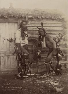 Omaha Sioux Dancers | Photograph | Wisconsin Historical Society