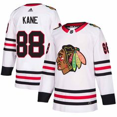 Patrick Kane Chicago Blackhawks adidas Authentic Player Jersey – White 1b44fb8c1