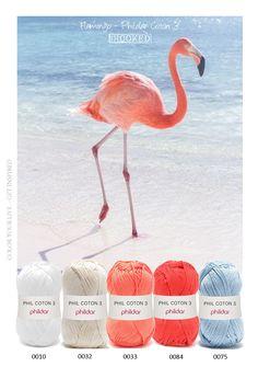 Kleurinspiratie Flamingo Phildar Coton 3