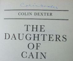 Colin Dexter's Signature