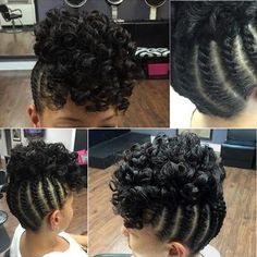 Peachy Beautiful Updo And Style On Pinterest Short Hairstyles For Black Women Fulllsitofus