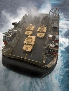 LCAC -  The new and improved way to hit the beach