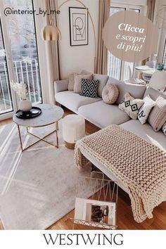 Home Living Room, Living Room Designs, Living Room Decor, Bedroom Decor, Small Apartment Living, Apartment Interior, Apartment Design, Living Room Inspiration, Home Decor Inspiration