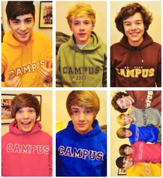"""fetus one direction in """"campus"""" hoodies Liam James, James Horan, Harry Edward Styles, Harry Styles, Fetus One Direction, Louis Williams, The Only Way, Liam Payne, Best Songs"""