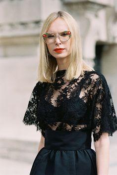 Lingerie as Outerwear.Vanessa Jackman»