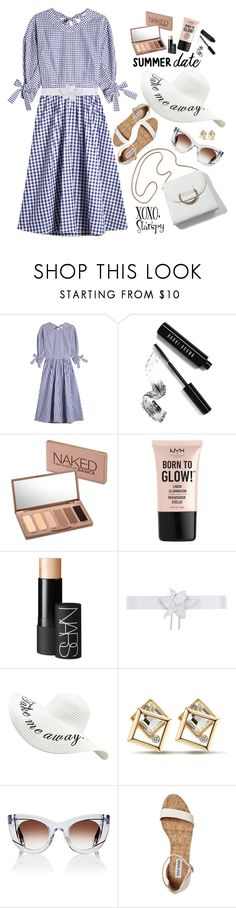 """""""Take me away"""" by starspy ❤ liked on Polyvore featuring Rosetta Getty, Bobbi Brown Cosmetics, Urban Decay, NYX, NARS Cosmetics, Space Style Concept, Thierry Lasry and modern"""