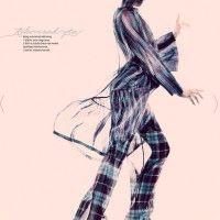 Моа Аберг (Moa Aberg) для Elle Denmark, март 2013