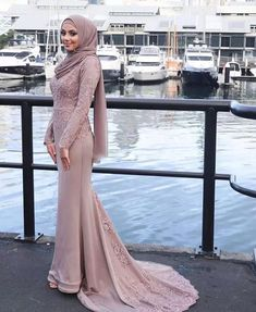 Details about Dusty Pink Muslim Mermaid Evening Dresses Long Sleeves Arabic Prom Formal Gowns , Muslim Prom Dress, Hijab Prom Dress, Hijab Gown, Muslim Evening Dresses, Hijab Evening Dress, Long Sleeve Evening Dresses, Prom Dresses Long With Sleeves, Mermaid Evening Dresses, Bridesmaid Dress