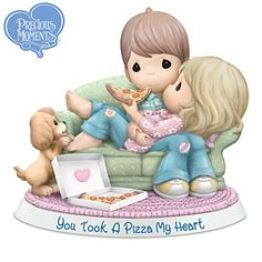 Shop a great selection of exclusive Precious Moments collectibles at Hamilton Collection. Select from many of the adorable Precious Moments figurines that we offer. Precious Moments Coloring Pages, Precious Moments Quotes, Precious Moments Figurines, Pizza, Pastel Palette, Bradford Exchange, Heart Melting, Together We Can, Love Can