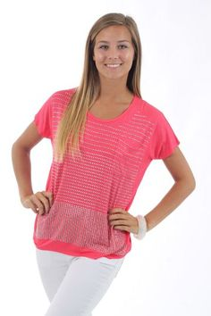 The Milky Way Top, pink $36 www.themintjulepboutique.com