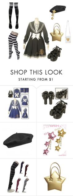 """sailor coord"" by yvettedekker ❤ liked on Polyvore featuring Bodyline and Seeberger"