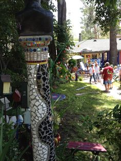 Mosaic column