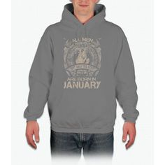 The Best Are Born In January T-Shirt Hoodie