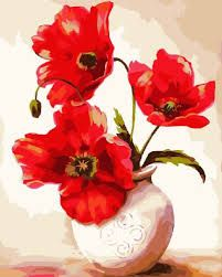 Buy Colour Talk Diy oil painting, paint by number kit- Two Flowers Vases 1620 inch. coupon on site for all new customers for Colour Talk Diy oil painting, paint by number kit- Two Flowers Vases 1620 inch. Oil Painting Pictures, Oil Painting Flowers, Wall Art Pictures, Pictures To Paint, Oil Painting On Canvas, Diy Painting, Canvas Art, Canvas Frame, Abstract Pictures