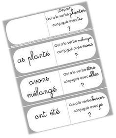 des jeux en conjugaison