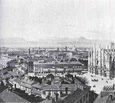 Milano - Foto storica Duomo