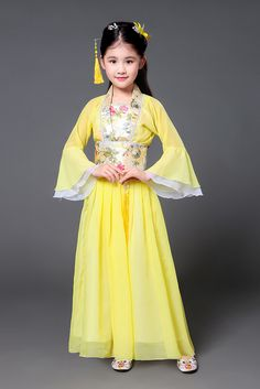 b12b3c26d213 Traditional Chinese Dance Costume for Kids | WayAsian Dance Costumes Kids,  Chinese Dance, Hanfu