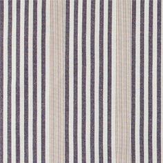 Gewebt Navy/Sand/Beige Streifen Garngef.
