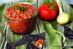 The Nourished Seedling | Easy Homemade Garden Salsa  Super simple and delicious, this salsa is full of fresh garden flavor and healthy antioxidants! #growyourown #glutenfree #vegan