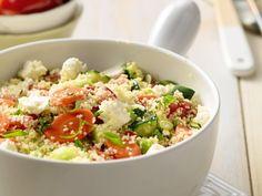 Tabouleh met groenten en feta