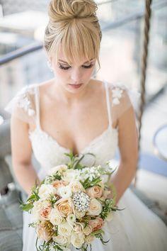 Photography: Alexis J. Williamson   lesalonbridal.com/about-us/ Wedding Gowns: Le Salon Bridal Couture   lesalonbridal.com/   View more: http://stylemepretty.com/vault/gallery/33302