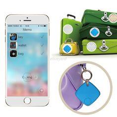 Bluetooth Tracker Anti-Lost Child Luggage Pet Smart Finder GPS Locator Wireless #UnbrandedGeneric