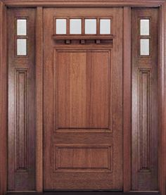 Craftsman Style Doors Like This Are The Latest Trend For Upgrading Existing Exterior  Front Doors.